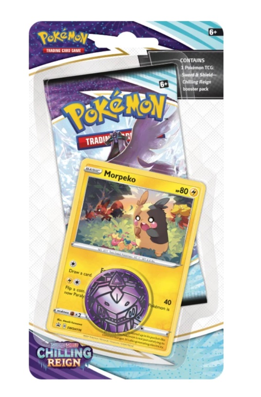 Sword & Shield: Chilling Reign Blister Pack (Morpeko)