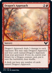 Dragon's Approach - Foil