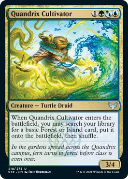 Quandrix Cultivator