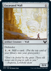 Excavated Wall - Foil