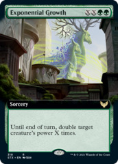 Exponential Growth - Extended Art - Foil