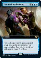 Tempted by the Oriq - Foil - Extended Art