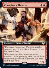 Conspiracy Theorist - Extended Art