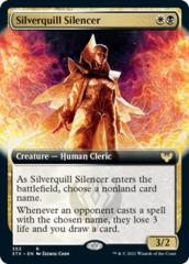 Silverquill Silencer - Foil - Extended Art
