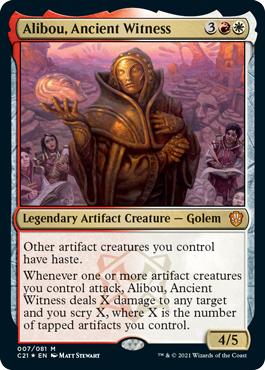 Alibou, Ancient Witness - Foil