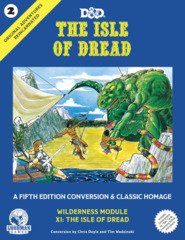 Original Adventures Reincarnated #2 - The Isle of Dread