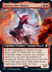 Rionya, Fire Dancer - Extended Art
