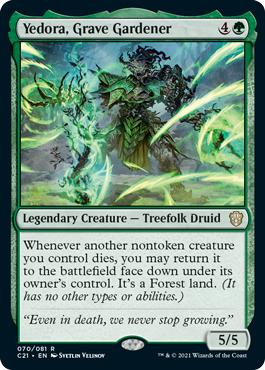 Yedora, Grave Gardener