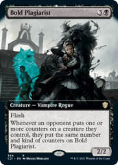 Bold Plagiarist - Extended Art