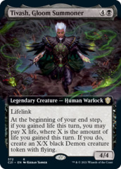 Tivash, Gloom Summoner - Extended Art