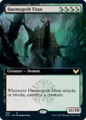 Daemogoth Titan - Foil - Extended Art