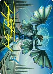 Tanazir Quandrix Art Card - Gold-Stamped Signature