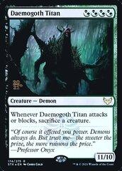Daemogoth Titan - Foil - Prerelease Promo