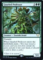 Gnarled Professor - Foil - Prerelease Promo