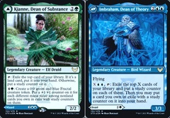 Kianne, Dean of Substance // Imbraham, Dean of Theory - Foil - Prerelease Promo