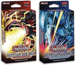 Egyptian God Deck: Slifer the Sky Dragon and Obelisk the Tormentor - 1st Edition Display (8 boxes, 4 of each deck)