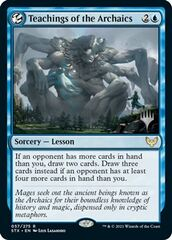 Teachings of the Archaics - Foil - Promo Pack