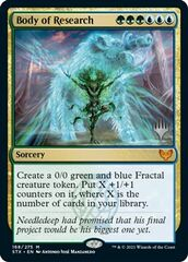 Body of Research - Foil - Promo Pack