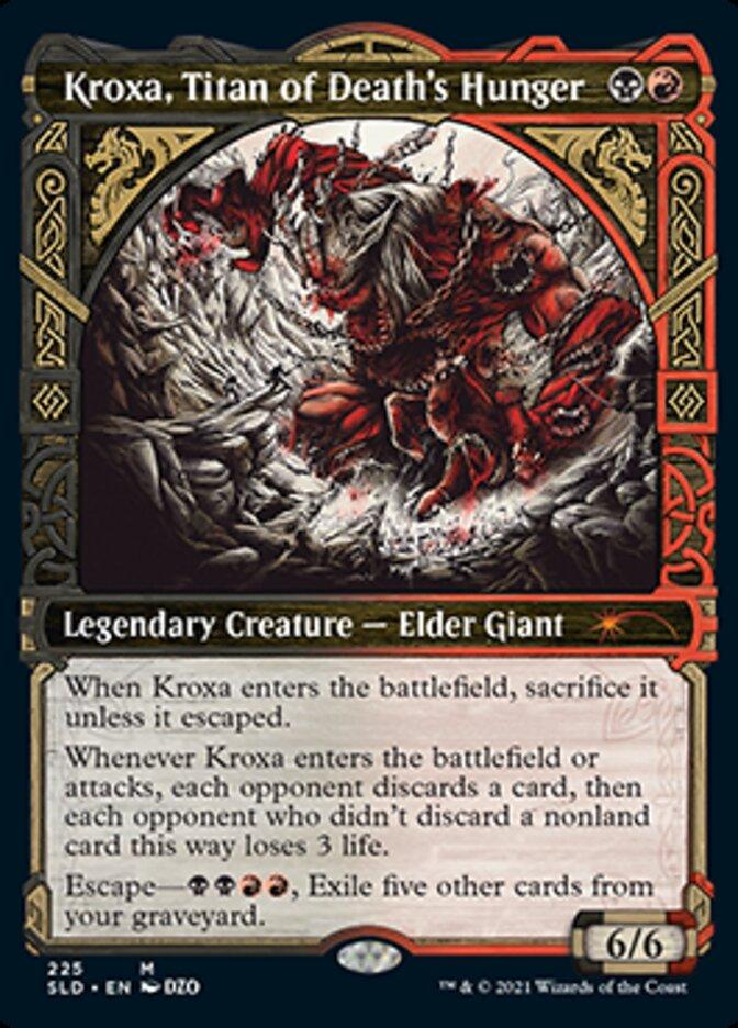 Kroxa, Titan of Deaths Hunger