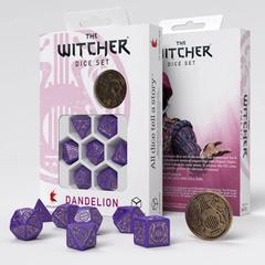 The Witcher Dice Set: Dandelion - Viscount de Lettenhove