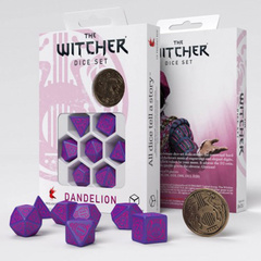 The Witcher Dice Set: Dandelion - Conqueros of Hearts