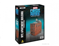 Marvel Crisis Protocol: NYC Apartment Building Terrain Pack