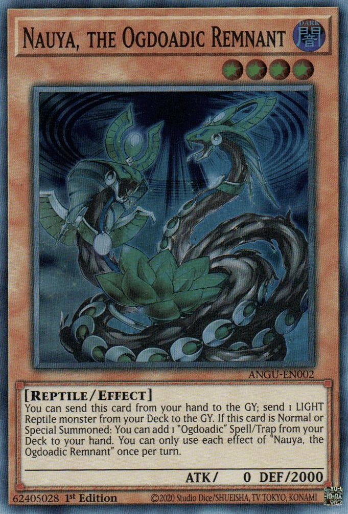 Nauya, the Ogdoadic Remnant - ANGU-EN002 - Super Rare - 1st Edition