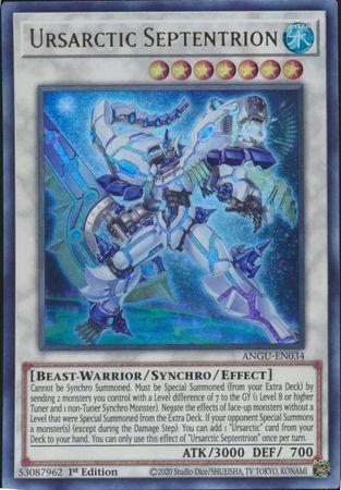 Ursarctic Septentrion - ANGU-EN034 - Ultra Rare - 1st Edition