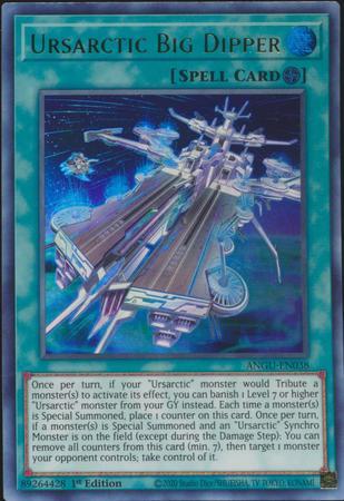 Ursarctic Big Dipper - ANGU-EN038 - Ultra Rare - 1st Edition