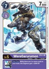 WereGarurumon - ST6-11 - R