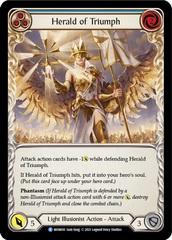 Herald of Triumph (Blue) - 1st Edition