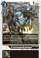 Commandramon - BT4-063 - R