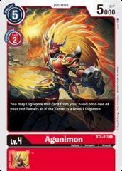 Agunimon - BT4-011 - U