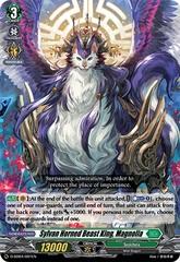 Sylvan Horned Beast King, Magnolia (RRR Foil) - D-SD04/001EN - RRR