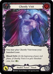Ghostly Visit (Red) - Rainbow Foil - 1st Edition
