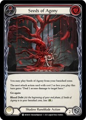 Seeds of Agony (Red) - Rainbow Foil - 1st Edition