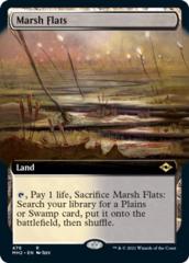 Marsh Flats - Foil - Extended Art