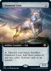 Diamond Lion - Foil - Extended Art