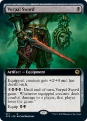 Vorpal Sword - Extended Art