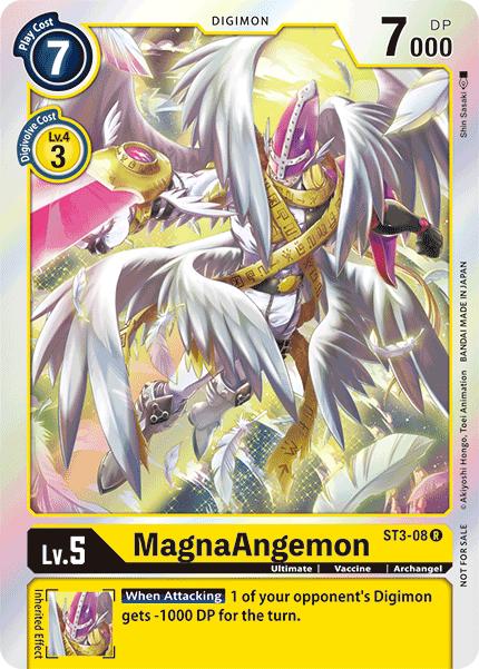 MagnaAngemon - ST3-08 - R - Silver Foil