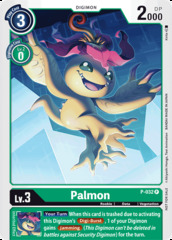 Palmon - P-032 - P (Great Legend Power Up Pack)