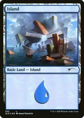 Island (555) - Foil