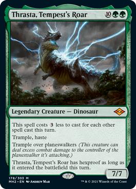 Thrasta, Tempests Roar