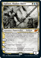 Dakkon, Shadow Slayer - Foil - Showcase