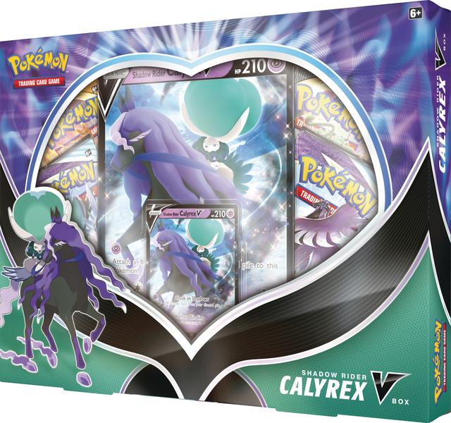Shadow Rider Calyrex V Collection Box