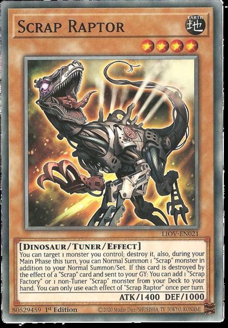 Scrap Raptor - LIOV-EN021 - Common - 1st Edition