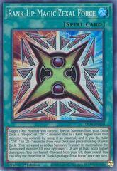 Rank-Up-Magic Zexal Force - LIOV-EN050 - Super Rare - 1st Edition