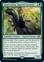 Chatterfang, Squirrel General - Foil