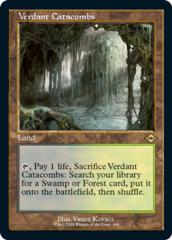 Verdant Catacombs - Foil Etched - Retro Frame