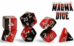 Gate Keeper Games Supernova 7-Die Set: Magma Dice